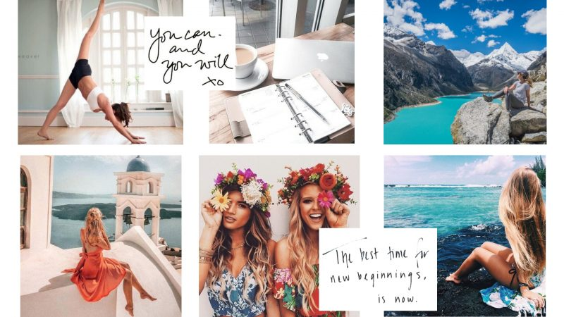 Vision boards helps with goal-setting and helps you keep you on track to your New year's Resolutions all year long.