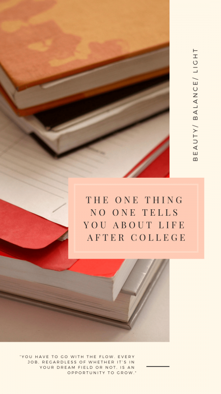The One Thing No One Tells You About Life After College- Advice on personal development for twenty-somethings