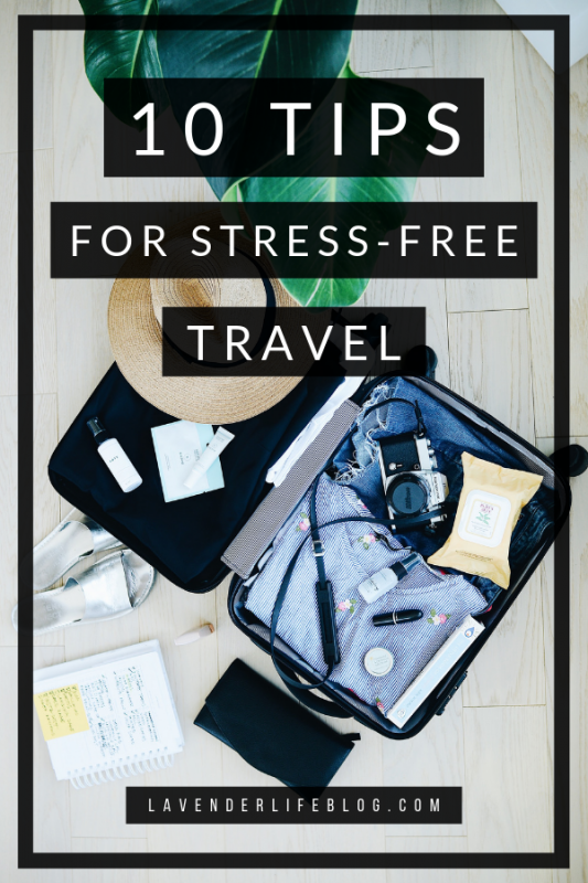 What to bring and what to do to reduce stress when you traveling