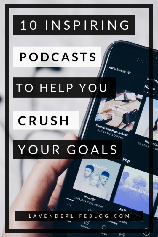 10 Most inspiring podcasts for women t help you get motivated to achieve your goals
