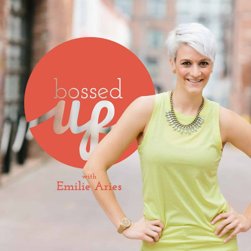 Bossed Up with Emilie Aries offers inspiring career advice each week