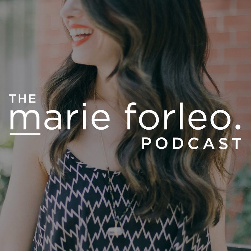 Marie Forleo Podcast is one of the featured Top 10 Podcasts that will inspire you to crush your goals