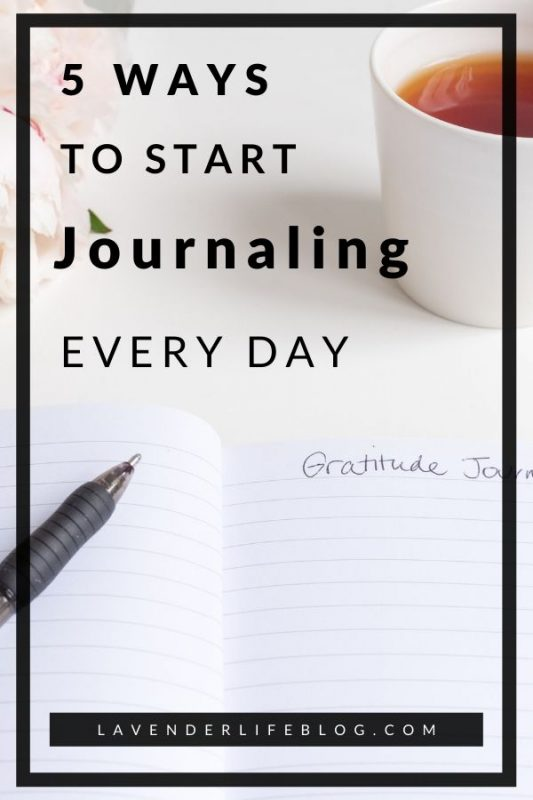 How to get in the habit of journaling every day